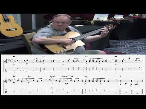 Richard Smith (with Tommy Emmanuel) - The Entertainer Full Transcription