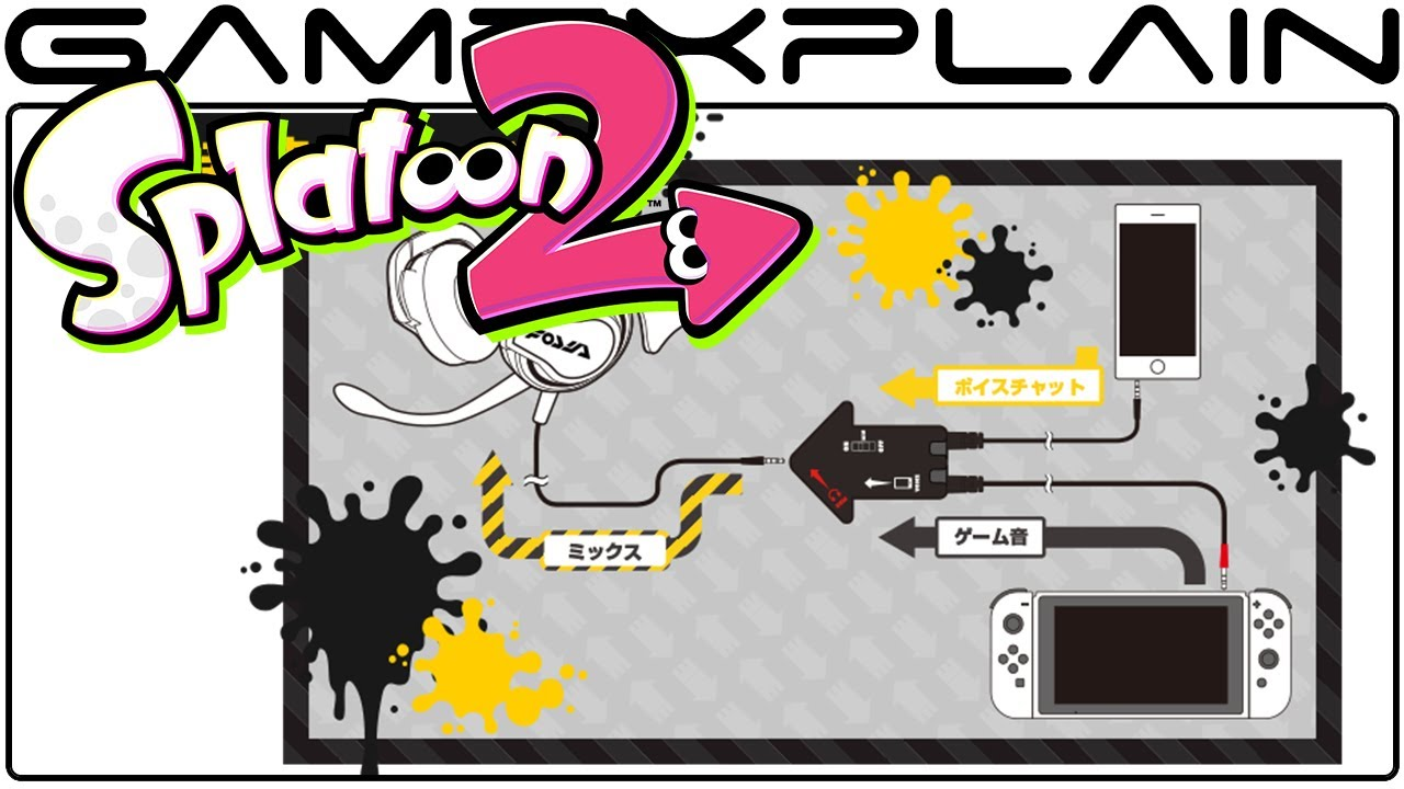 Splatoon 2's Voice Chat For Nintendo Switch Looks Complicated