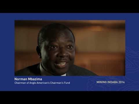 Norman Mbazima, Chairperson of Anglo American's Chairman's Fund