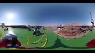 Oldendorff Carriers - Helga Oldendorff - 360° Main Deck to Foc'sle Deck
