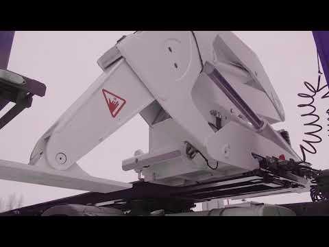 Саморазгружаемый полуприцеп-контейнеровоз от Meusburger Новтрак!