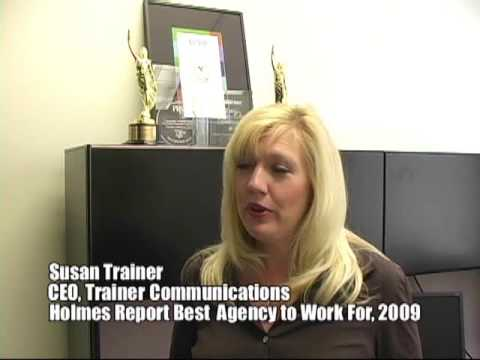Trainer Communications Best Agency to Work for Award