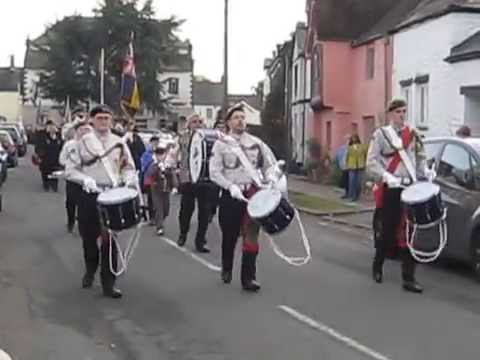 Usk Town Remembrance Parade 2016