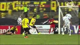 Barcelona SC 1 - 2 Atlético Nacional Copa Libertadores 2015