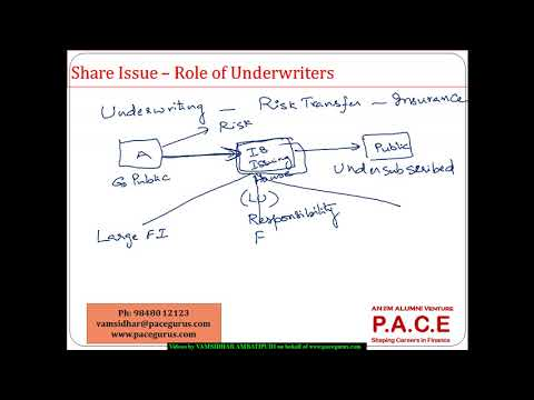 6 2 Role of Underwriters in Share issue