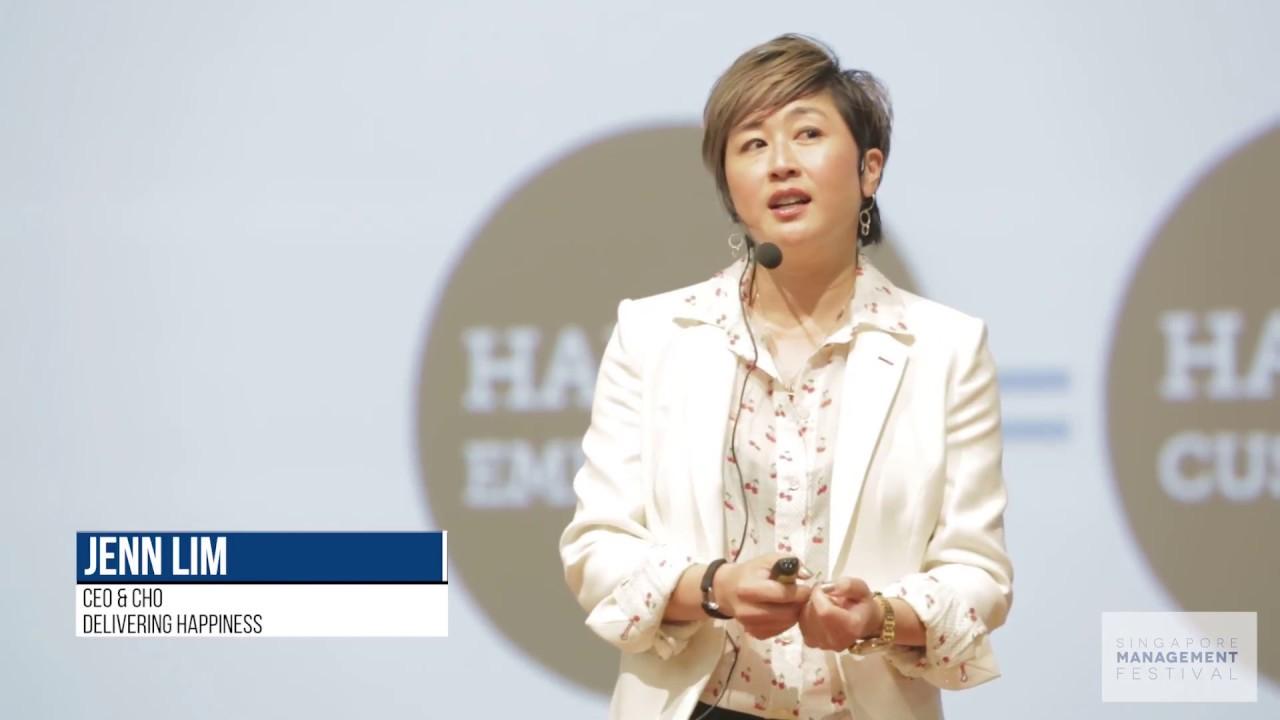 Jenn Lim at the Singapore Management Festival 2017 ...