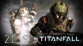 Titanfall PC FOV 105 & Vinyl SMG Mod 21:9 Gameplay UltraWide