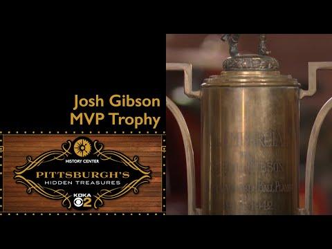 Josh Gibson MVP Trophy | Pittsburgh's Hidden Treasures