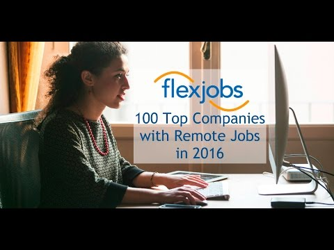 The 2016 Remote Job Market with FlexJobs, Dell, UnitedHealth, and Kaplan