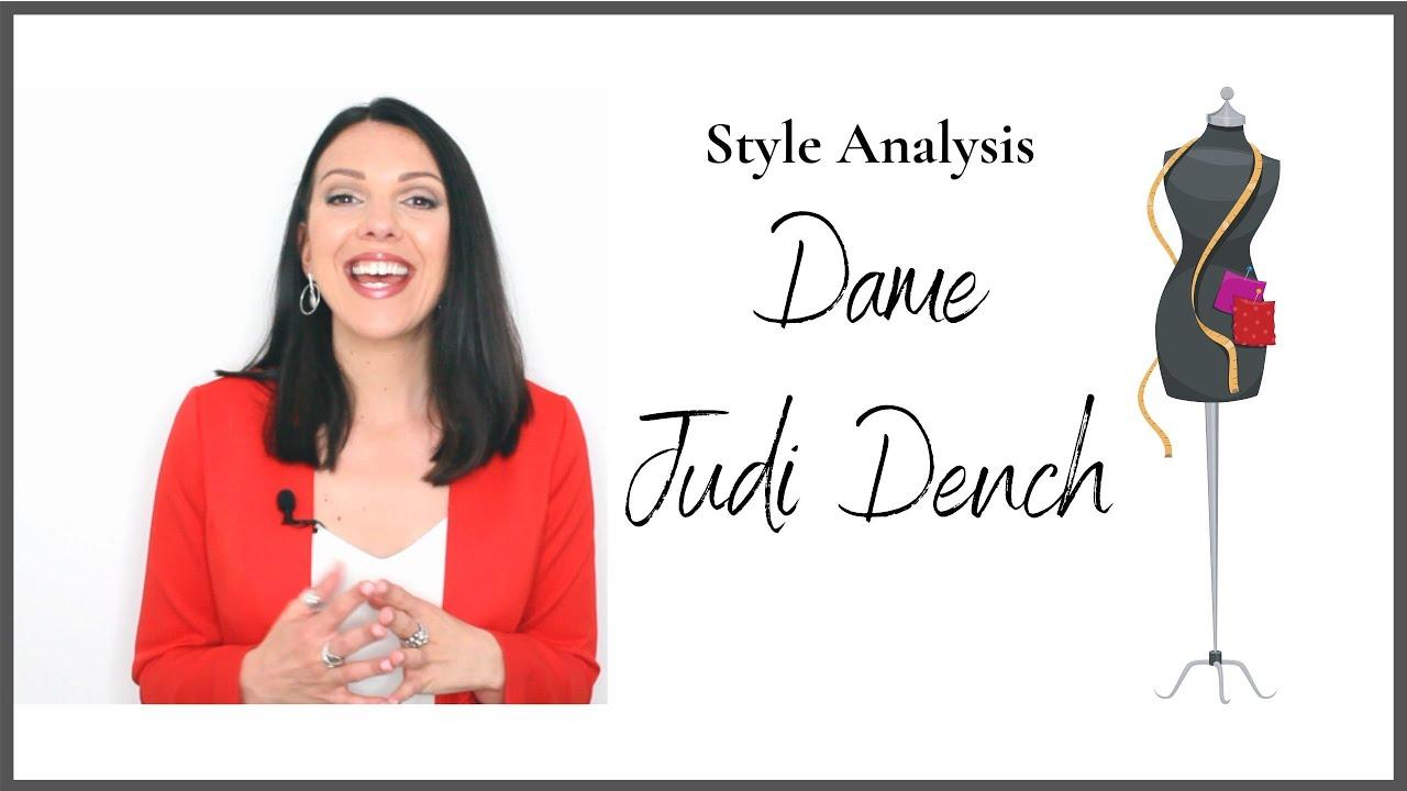 Style Analysis - Dame Judi Dench