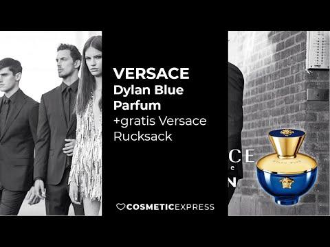Versace Dylan Blue Parfum Gratis Versace Rucksack Cosmeticexpress