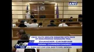 CBCP rues pace of Maguindanao massacre trial