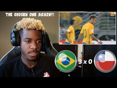 BRAZIL 3 x 0 CHILE - World Cup Qualifiers 10/10/17 - THE CHOSEN ONE STRIKERS AGAIN!! 🇧🇷 | Reaction