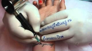 Tatuaj mana tattoo scris mana salon tatuaje filme online Zarescu Dan http://www.machiajtatuaj.ro