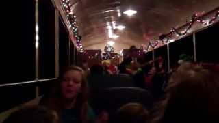 Florida Railroad Museum North Pole Express Leaving Parrish