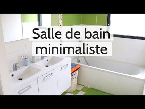 6 astuces pour une salle de bain minimaliste une vie simple et zen youtube - Astuce rangement produit salle de bain ...