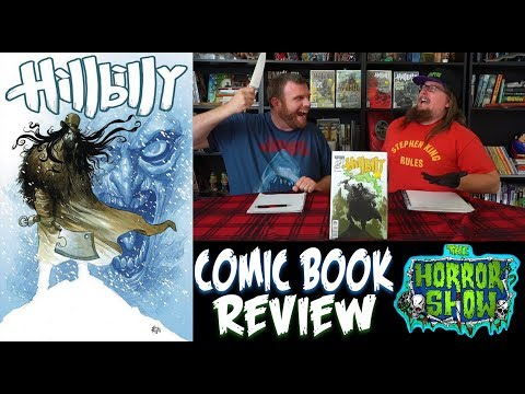 """HillBilly"" 2017 Eric Powell Horror Comic Book Review - The Horror Show"