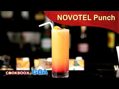 Novotel Punch Mocktail | Mocktail Fruit Punch | How to make