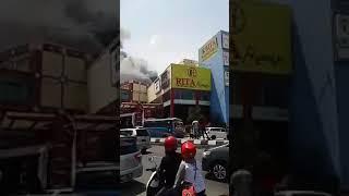 Rita Mall Tegal Kebakaran !