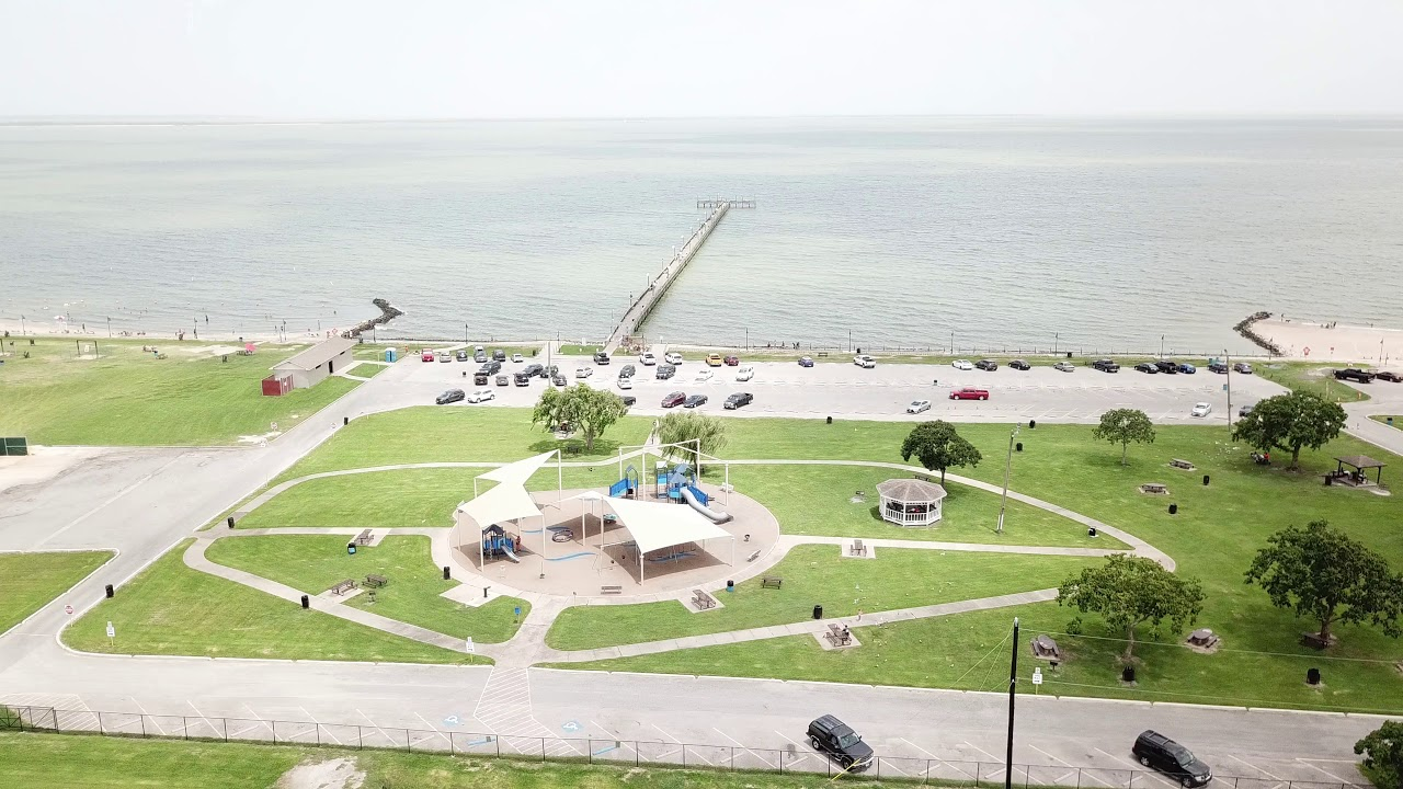 Sylvan Beach Park and Fishing Pier La Porte TX - YouTube