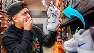 Buying Rare PlayStation Shoes at Nike Outlet!!