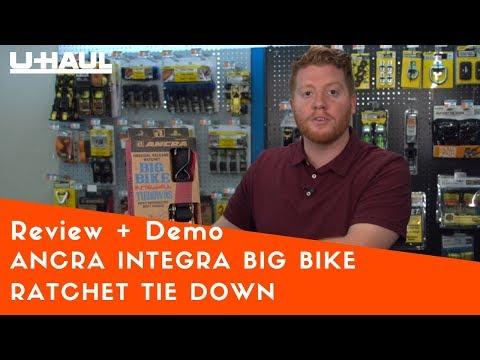 ANCRA Integra Big Bike Ratchet Tie Down Review