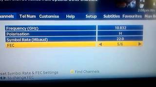 Add ITV 1 HD channel to your sky HD box