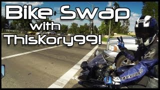 Ride & Bike-Swap with ThisKory99! Bikes: Ninja 300 and 2009 ZX-6R.