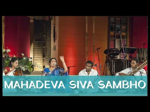 Aruna Sairam - Mahadeva Siva Sambho (Isha Yoga Center 2013)