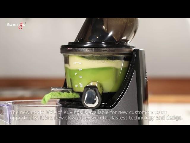 Kuvings Whole Slow Juicer EVO820 - Kuvings Katı Meyve Sıkacağı - En İyi Katı Meyve Sıkacağı