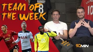 Ross barkley punched in bar, fans out of control?! | can tottenham catch chelsea?! | 90min totw