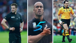 Top 5 Greatest Players In Rugby History