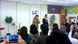 kawamuraBandの河村さんと物まねの勇次さんにより ようやく実現!