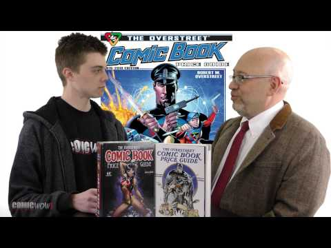 J.C. Vaughn ComicWow Interview 2015 OverStreet Comic Book Price Guide 45th edition
