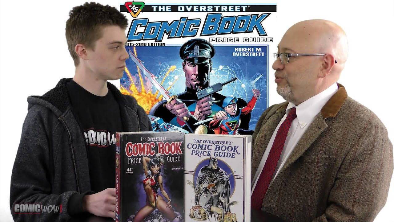 J.C. Vaughn ComicWow Interview 2015 OverStreet Comic Book Price ...