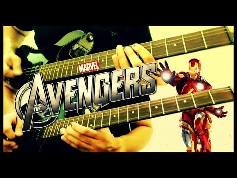 Avengers Theme Guitar Cover - Marvel Tribute by Sanjay Menon