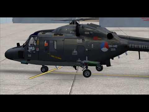 Westland Lynx SH14D PARA FSX