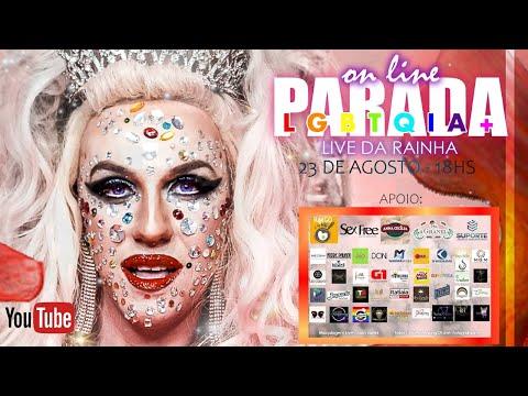 PARADA LGBTQIA+ online #LiveDaRainha