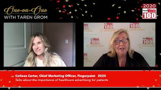 Colleen Carter, Fingerpaint – 2020 PharmaVOICE 100 Celebration