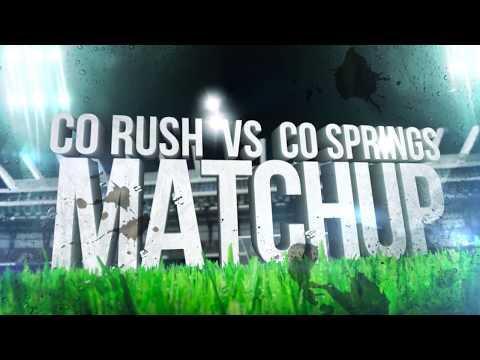 UPSL PLAYOFFS: Colorado Rush v Colorado Springs FC 2017