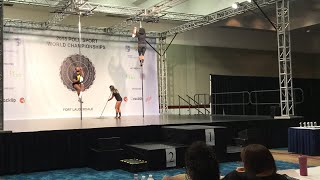 POSA - Pole Sport World Championships - Finals Afternoon