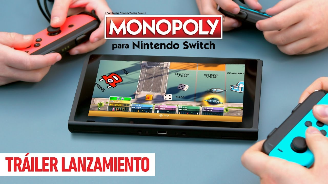 Monopoly Para Nintendo Switch Trailer Lanzamiento Youtube