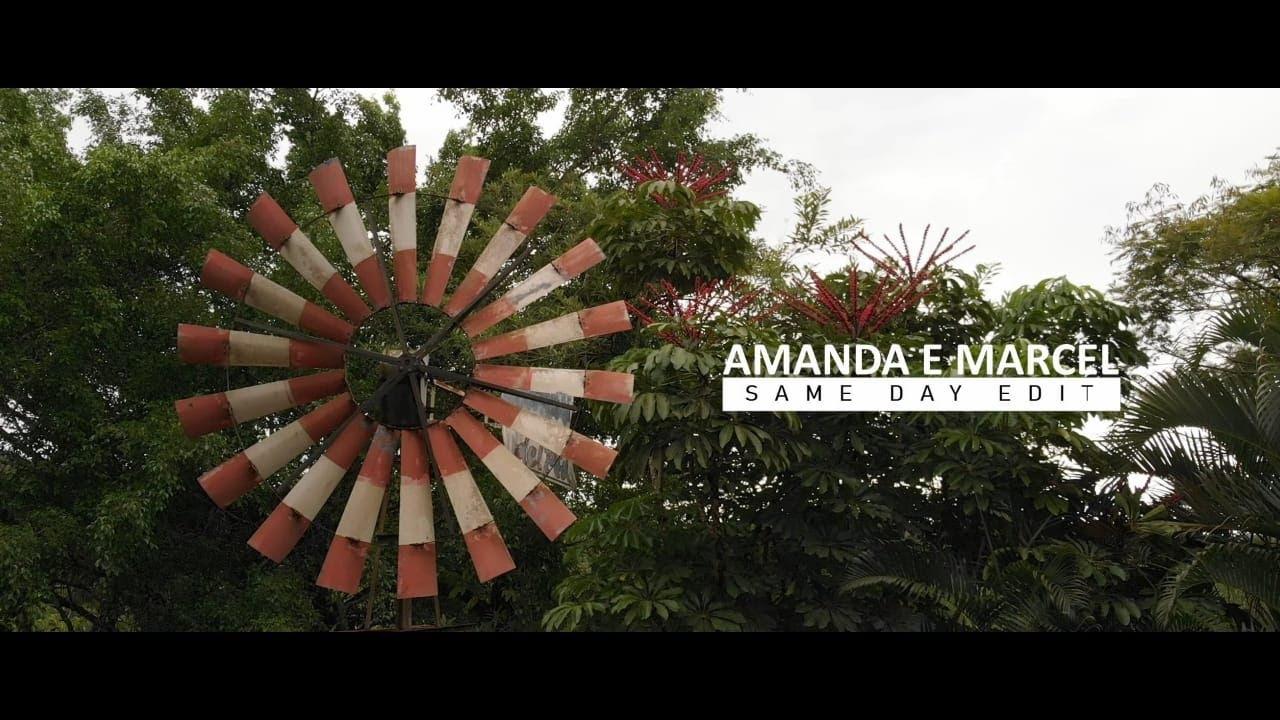 Vídeo editado no dia do casamento | Amanda e Marcel