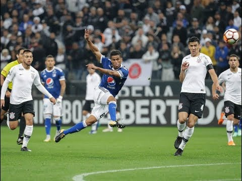 Gol de Carrillo - Corinthians 0 x 1 Millonarios - Narração de Nilson Cesar