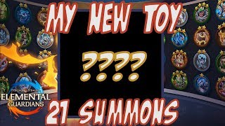 My New Toy & 21 Summons - Might and Magic Elemental Guardians