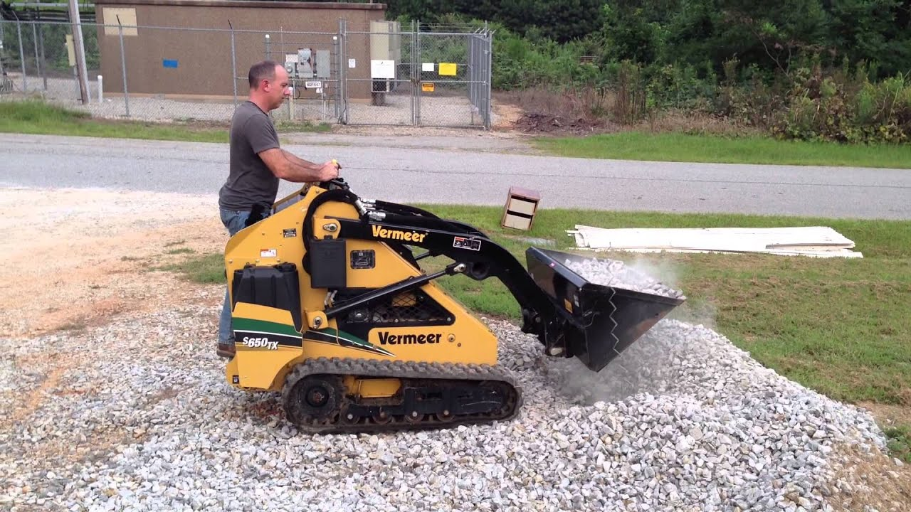 Mini Skid Steer : Vermeer s tx mini skid steer loader for sale at