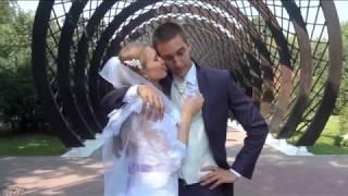 Монтаж свадебного видеоролика из  любительского материала
