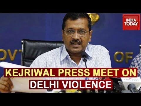 Delhi Violence: Kejriwal Announces Compensation For Affected, Assures Action Against Culprits