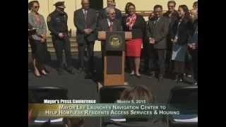 Mayor Lee Launches Navigation Center to Help Homeless Residents Access Services & Housing