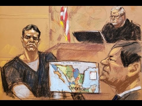 El Chapo #1 Snitch | VIcente Zambada testifies at the trial
